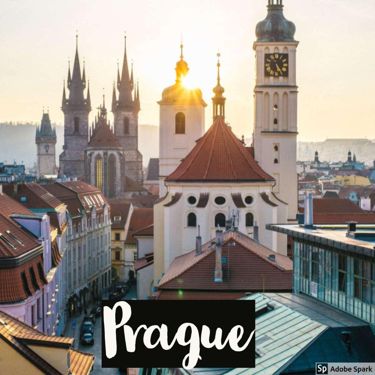 December in Prague